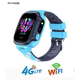 Đồng hồ thông minh định vị trẻ em ANNCOE Y92 nghe gọi nhắn tin hai chiều  định vị bằng sóng 4G + Wifi chống nước cấp độ IP67 mẫu mới nhất 2020 - Hàng Chính Hãng