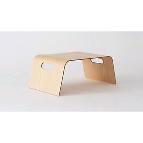 Bàn đa năng - tiện dụng gỗ uốn cong ToMa Bed Tray - Laminate màu Ask