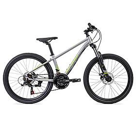 Xe đạp địa hình Jett Octane 24 inch cho bé trên 10 tuổi - chiều cao 130 -150 cm 116-24S ( Xám )