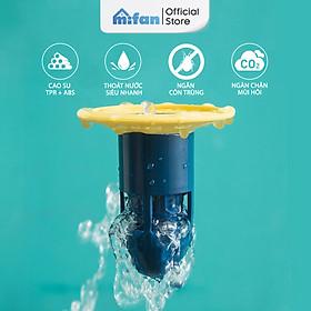 Bộ Lõi Lọc Khử Mùi Hôi Lỗ Thoát Sàn Cao Cấp MIFAN - Ngăn chặn mùi hôi cống, chống côn trùng lỗ thoát nước nhà tắm, vệ sinh, bồn rửa - Mẫu mới 2021