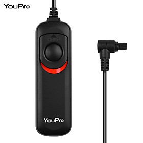 YouPro N3 Type Shutter Release Cable Timer Remote Control 1.2m/3.9ft Replacement for Canon 7D 7DII 6D 6D Mark II 50D 5D