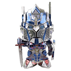 Đồ chơi lắp ghép mô hình kim loại MU Transformers G5 Changeable Head - Optimus Prime