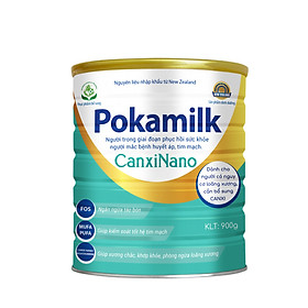Sữa dinh dưỡng POKAMILK CANXINANO 900g