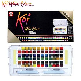Bộ Màu Nén Koi Water Color STUDIO + 2 Brush