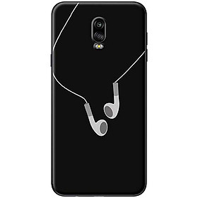 Hình đại diện sản phẩm Ốp Lưng Dành Cho Điện Thoại Samsung Galaxy J7 Plus Tai Nghe