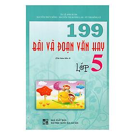 Hình đại diện sản phẩm 199 Bài Và Đoạn Văn Hay Lớp 5