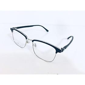 Gọng kính nửa gọng unisex thời trang hiện đại- 9940-C3- Bạc