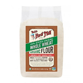 Bột mỳ nguyên cám hữu cơ Bob's Red Mill organic whole wheat flour