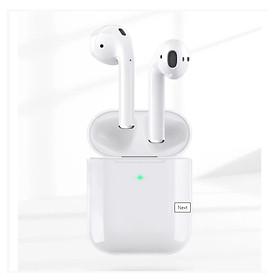 Tai Nghe Bluetooth cảm ứng 2 Bên Tws V5.0 có mic định vị Lanex Lep W12 - Hàng nhập khẩu