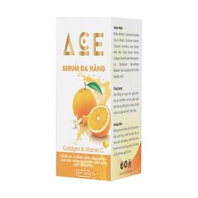 Serum Đa Năng ACE Collagen & Vitamin C, Trắng da, Chống nắng, Ngăn ngừa lão hóa, Giảm mụn thâm, Nám sạm, Giúp tái tạo da (30ml)