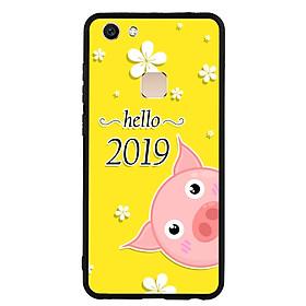 Hình đại diện sản phẩm Ốp Lưng Viền TPU cho điện thoại Vivo V7 - Pig 2019