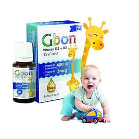 Vitamin D3 K2 tăng chiều cao Gbon
