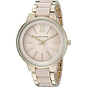 Đồng hồ nữ Anne Klein Women's Resin Bracelet Dress Watch - Pink/Gold