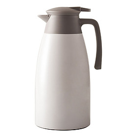 Phích nước giữ nhiệt 2L nóng lạnh, bình thủy đựng nước gia đình (Giao màu ngẫu nhiên)