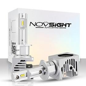 2pcs/set Led  Car  Headlight Novsight Mini H7 12v Car Light 55w 6000k White Auto Lamps