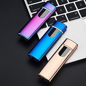 BẬT LỬA ĐIỆN 2 MẶT CẢM ỨNG SỬ DỤNG SẠC USB
