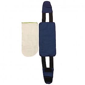 Bộ 1 đai kèm 1 túi đựng muối giảm eo