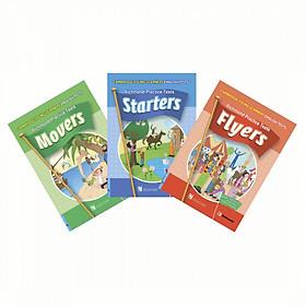 Starters Movers Flyers Combo 3 quyển - Luyện thi chứng chi Cambridge Tiểu Học + Kèm Đĩa CD