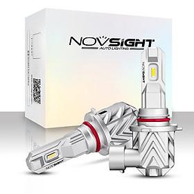 NOVSIGHT Car LED Fog lights 3500LM/Bulb Headlight Bulbs Kit 6000K White Running Light 20W/Bulb, Novsight H1, HID Decoder