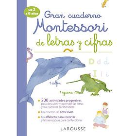 Mon Tres Grand Cahier Montessori Des Lettres Et Des Chiffres
