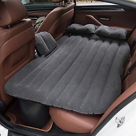 Đệm giường hơi xe ô tô loại tốt - đệm hơi ghế sau ô tô vải nhung dùng cho ô tô bán tải ô tô 5 chỗ, ô tô 7 chỗ