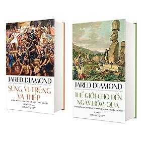 Combo Sách Kinh Điển Của Jared Diamond : Thế giới Cho Đến Ngày Hôm Qua + Súng, Vi Trùng Và Thép (Phiên Bản 2020)