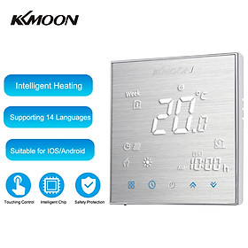 KKmoon Digital Water Heating Thermostat 7-Day Programmable with WiFi Connection & Voice Control Energy Saving AC 95-240V