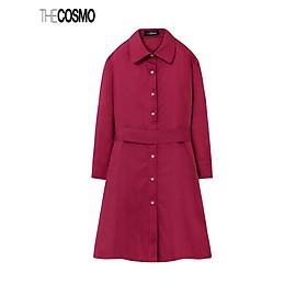 Đầm Nữ The Cosmo CARA DRESS Màu Đỏ TC2005247BU