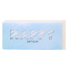 Thiệp Photostory Die-Cut A3 Happy Birthday 1