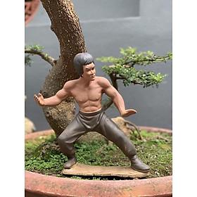 Tượng trang trí tiểu cảnh lý Tiểu Long h30cm gốm sứ Bát Tràng