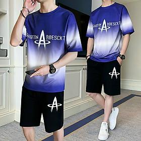 Đồ bộ thể thao nam vải thun lạnh mềm mịn, Thời Trang Phong Cách Hàn - Lee's Home (Freesize từ 45-70kg)-Nhiều kiểu lựa chọn
