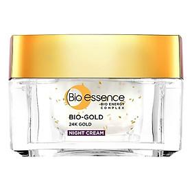 Kem dưỡng chiết xuất vàng sinh học Bio-essence 24K Bio-Gold Night (40g)