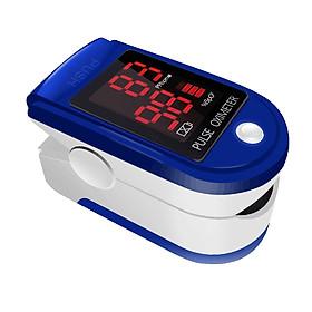 Máy đo oxy trong máu nhịp tim bằng đầu ngón tay có xung cảm biến Fingertip pulse SpO2 Oximeter Blood Oxygen Heart Rate Monitor CMS50DL