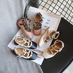 giày bé gái size 21-35 tán đinh cá tính (phom nhỏ)