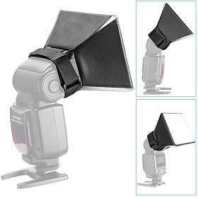 Photography Softbox Flash Diffuser Portable Bounce Softbox Kit Flash Lambency Box Softbox