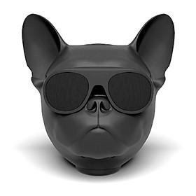 Loa Không Dây Bluetooth Âm Thanh Trầm Thiết Kế Đầu Chó Bull