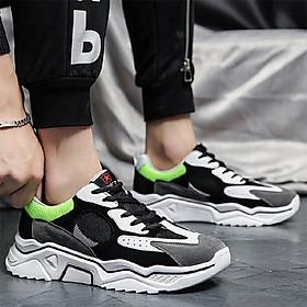 Giày Sneaker Đế Cao Su Nhẹ Nhàng Với Thiết Kế Cá Tính Cho Nam