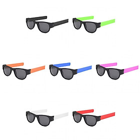 7Pcs Fashion Folding Sunglasses on Wrist UV-Protect Adults Eyewear Trendy