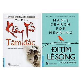 Combo Khổng Tử Tâm Đắc (Tái Bản) + Đi Tìm Lẽ Sống (2 cuốn)