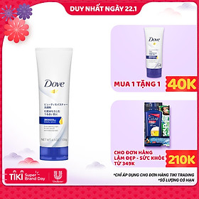 Sữa Rửa Mặt Dove Tinh Chất - Serum Cấp Ẩm Và Cho Da Mềm Mịn 130g