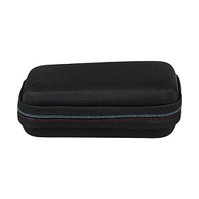 Hard Drive Storage Bag Portable Carrying Case EVA Shockproof Hard Disk Cables Charger Organizer For WD My Passport SSD - Black