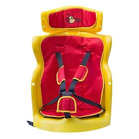 Ghế Ngồi Sau Xe Máy Beesmart X2 - Có Tựa Đầu (Đỏ)