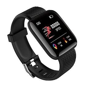 Vòng đeo Tay Thông Minh Bluetooth 116plus Touch Heart Rate Dây đeo Thông Minh