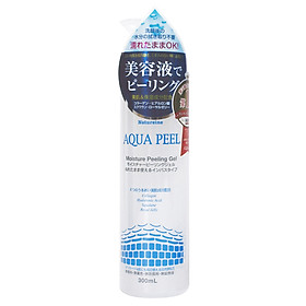 Natureine AQUA PEEL Moisture Peeling Gel - Gel tẩy tế bào da chết, cấp ẩm Nhật Bản - Chính Hãng