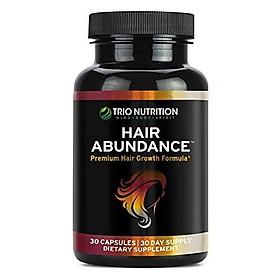 Biotin 10,000mcg - Hair Vitamins for Hair Growth   Hair Abundance is a Hair Treatment Supplement Pill Boosted with Fresh Collagen, Keratin, Bamboo - Thicker Eyelashes for All Hair Types Women & Men*