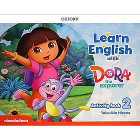 Learn English with Dora the Explorer 2 Activity Book
