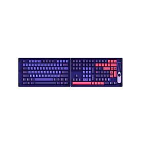 Bộ Set Keycap AKKO – NEON (PBT Double-Shot/Cherry Profile/157 nút) - Hàng Chính Hãng