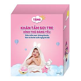 Combo 2 Tã Dán Merries XL44 tặng khăn tắm sợi tre hình thỏ đáng yêu và đồ chơi tắm Toys House-3