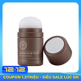 Phấn Nhuộm Tóc The Face Shop Quick Hair Puff (7g)