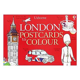 Usborne London Postcards to Colour